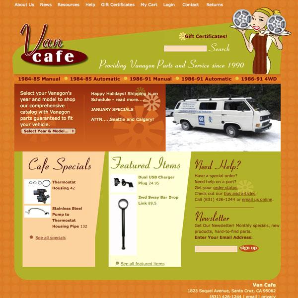 Van Cafe logo