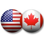 USA and Canada dealer flags